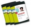 3x ALCLEAR Displaytuch anthrazit, 19x14 cm cm ,Art. 950003a